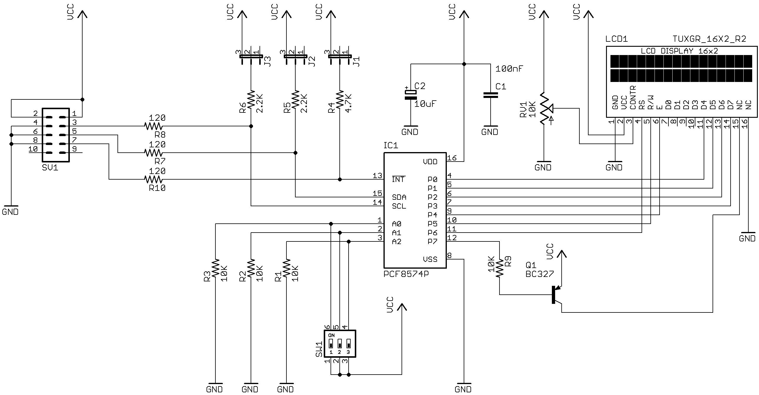 Schema Elettrico Per Xing : Laurtec controllare un lcd alfanumerico con interfaccia i c