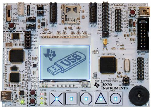 Experimenter Board modello MSP-EXP430F5529